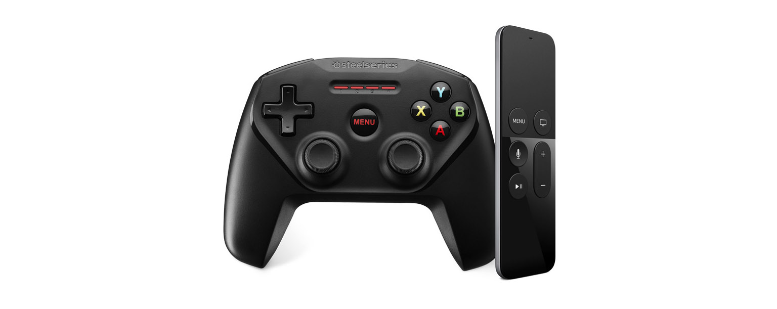 what game pad can i use with apple tv