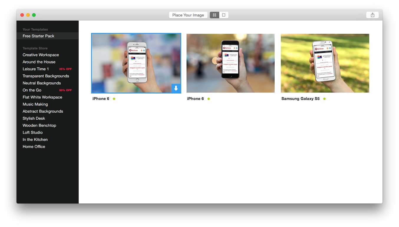 Scenery for Mac: Quickly Generate Marketing Photos of your App or ...